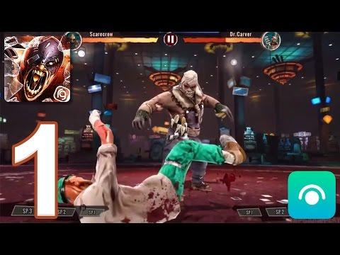 Zombie Deathmatch - Gameplay Walkthrough Part 1 - League 1: 1-4 [Boss] (iOS, Android)