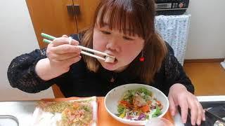ひな祭り!イオンのお惣菜を食べる!(*^^*)