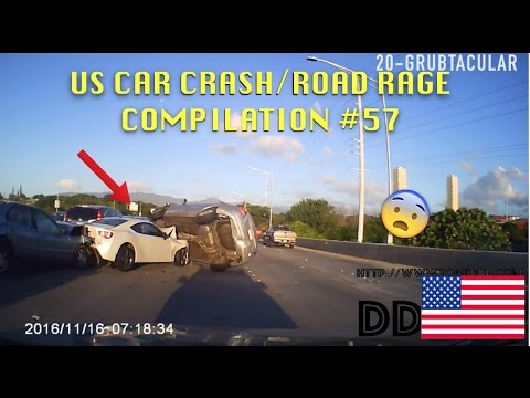 🇺🇸 [US ONLY] US CAR CRASH/ROAD RAGE COMPILATION #57 [Thanksgiving Edition]