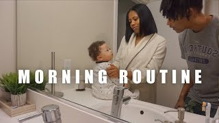 OUR MORNING ROUTINE WITH A NEWBORN!!! | VLOGMAS DAY 7