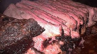 Smoked Beef Brisket: tender, flavorful, GOOD!!!