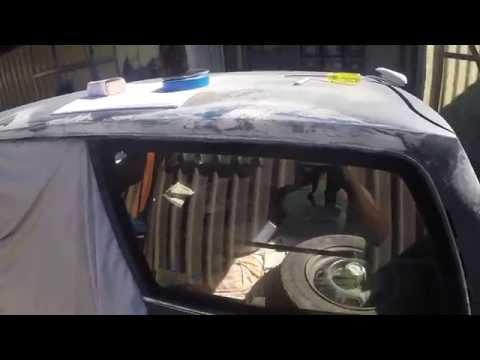 Datsun 1200 #4 Roof Rust Repair Day 2