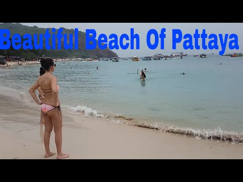top beach of Pattaya|| Pattaya Beach Thailand I Koh Larn II Пляж Карон