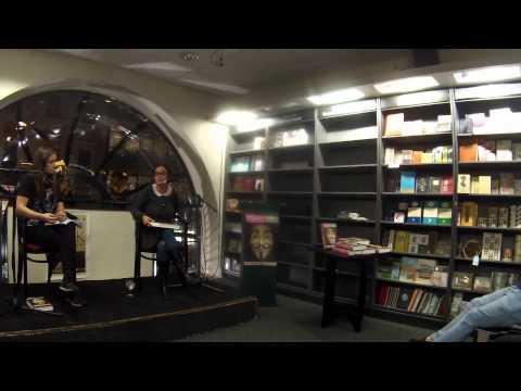Gabriella Coleman book launch, Dublin 5/11/14