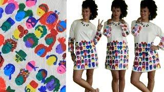 🎨 The Joy of Painting a DIY Dress 🎨