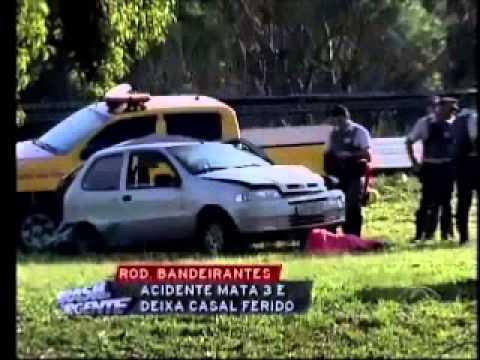 BRASIL URGENTE - Acidente Na Rodovia Dos Bandeirantes Deixa Três Jovens Mortas