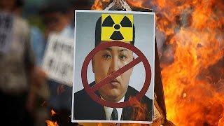 فيديو.. مظاهرات في كوريا الجنوبية تنديً بنووي جارتها الشمالية