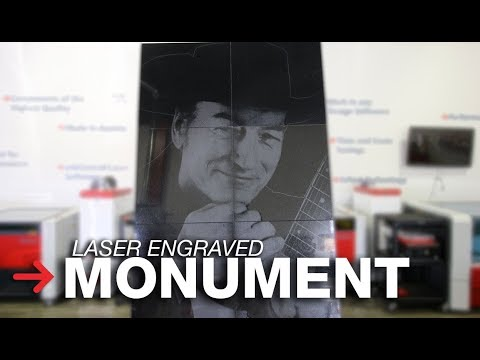 Laser Engraved Monument | Laser Etching Monuments | Stone