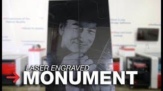 Laser Engraved Monument   Laser Etching Monuments   Stone Engraving
