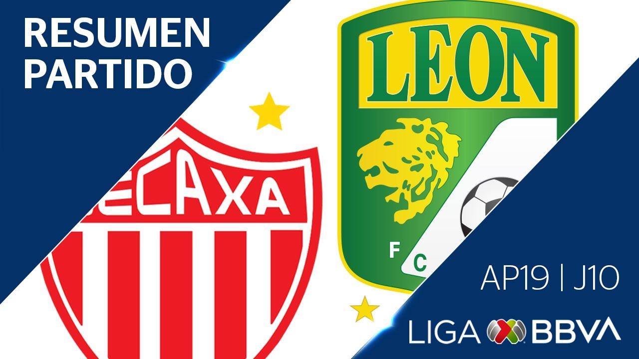 Resumen y Goles | Necaxa vs León | Jornada 10 - Apertura 2019 | Liga BBVA MX