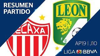 resumen y goles necaxa vs len jornada 10 apertura 2019 liga bbva mx