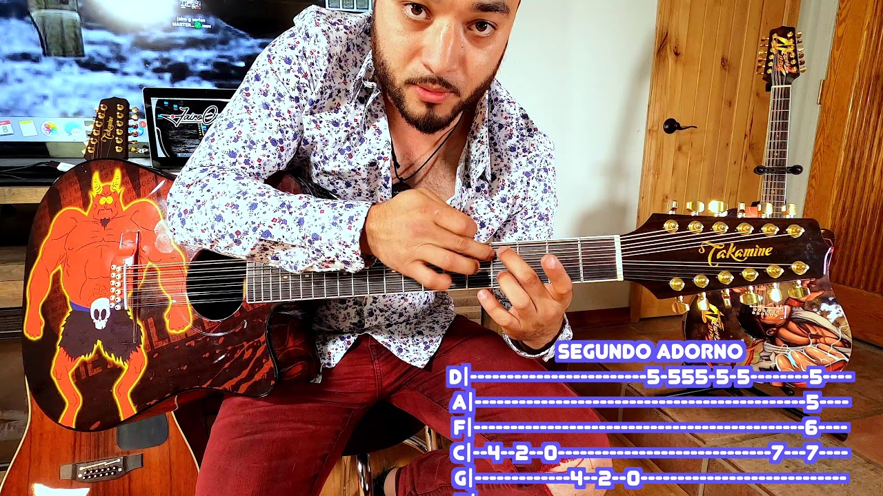Adornos para tocar fácil y sencillo ( takamine y mas )