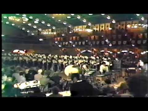 Needham Broughton High School Marching Band-1987 Festival of States-Opening Ceremony