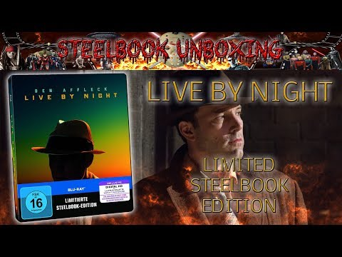 Unboxing - Live by Night - Limited Steelbook Edition