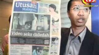 TVSelangor09 05042011 Said Zahari   Utusan Aibkan Anwar Untuk Politik Umno