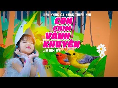 Con Cò Bé Bé, Con Chim Vành Khuyên ♪ Bé Minh Vy [MV 4K]☀ Ca Nhạc Thiếu Nhi Hay Nhất Cho Bé