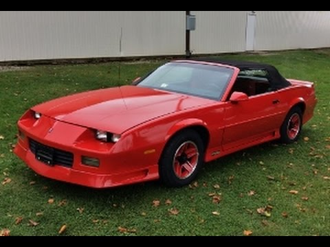 1992 chevrolet camaro rs 25th anniversary edition for sale. Black Bedroom Furniture Sets. Home Design Ideas