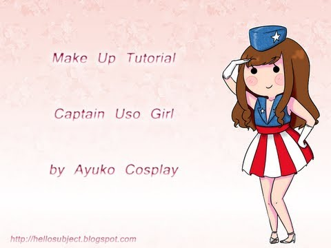 Captain USO Girl tutorial (inspired Pin-Up)