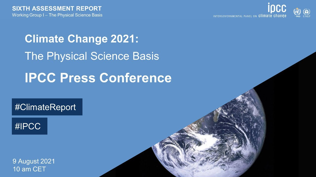 IPCC Press Conference