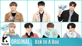 Video ASK IN A BOX: GOT7(갓세븐)_Never Ever download MP3, 3GP, MP4, WEBM, AVI, FLV Mei 2018
