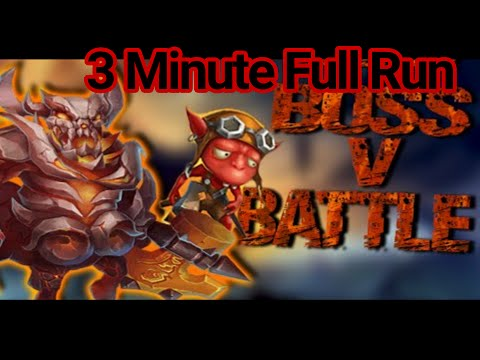 Castle Clash Easy Boss 5 Full Run