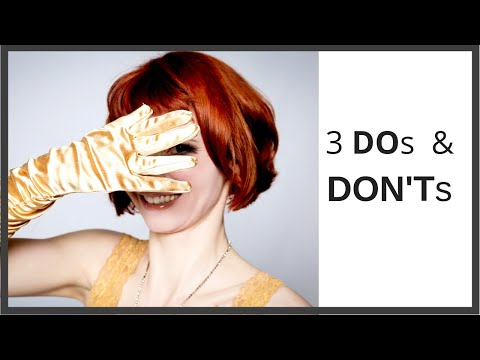 Burlesque - 3 DOs & DON'Ts - Simple Tips for Creating your Routine - Burlesque Dance Tutorial