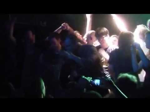 Future Islands - Vireo's Eyes Stage Invasion @ Mocvara, Zagreb 11/Oct/2014