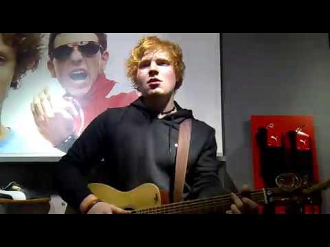 Ed Sheeran - Make You Feel My Love (cover) Puma Store, Carnaby Street, London 18/11/10