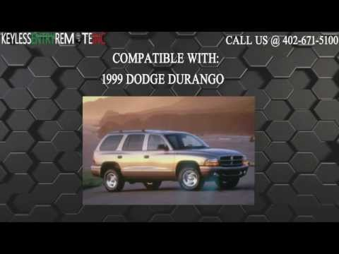 How To Replace Dodge Durango Key Fob Battery 1999