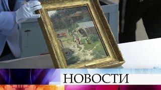 В музей «Новый Иерусалим» привезли коллекцию картин, изъятых у бывшего замминистра финансов.