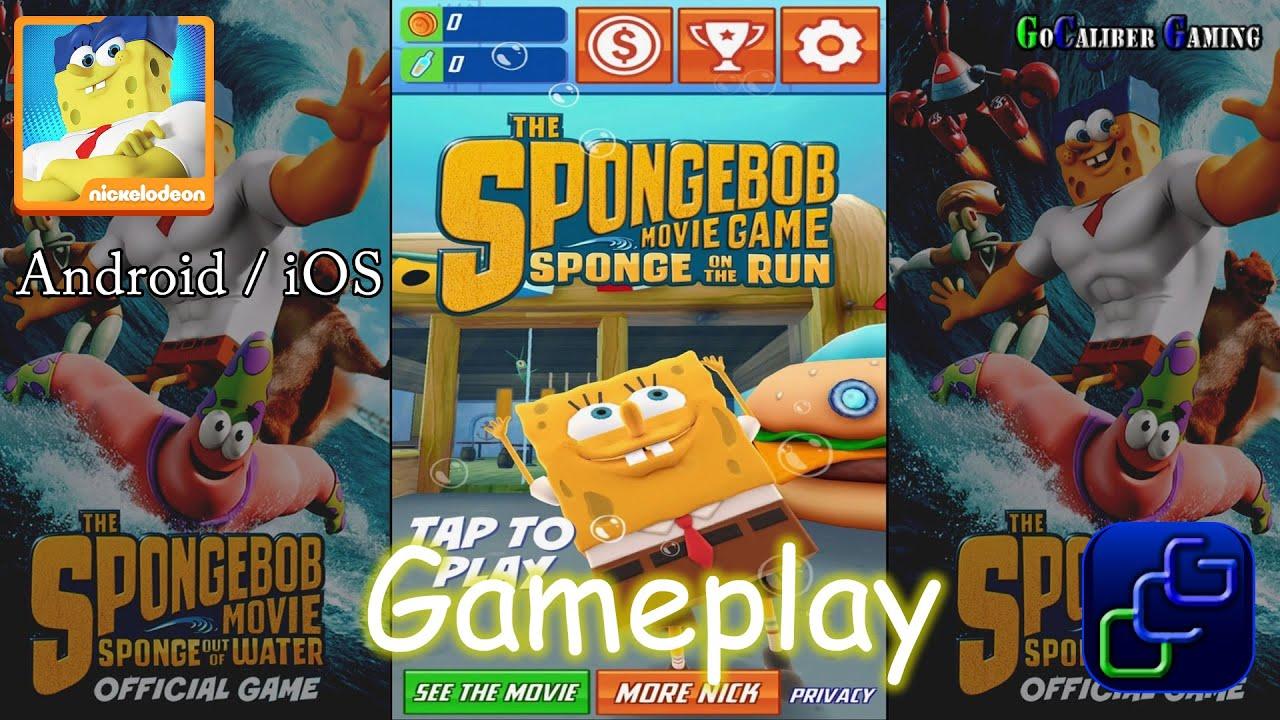The spongebob movie game sponge on the run android ios gameplay