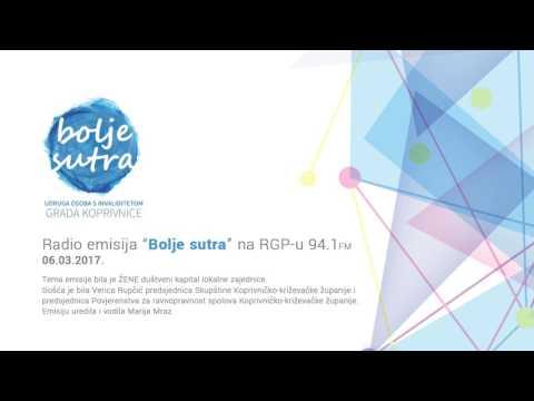 Radio emisija Bolje sutra - ŽENE društveni kapital (2017 06 03)