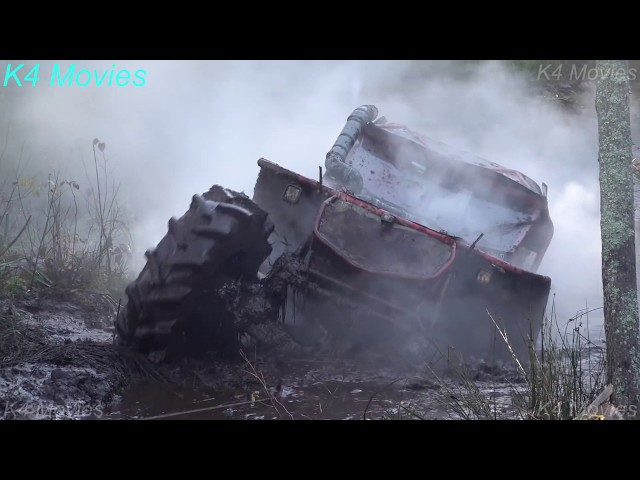 4x4 Off-Road vehicle mud, water race   ET2   Andsumae 2018