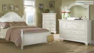 Cottage Traditions White Poster Bedroom Collection From American Woodcrafters