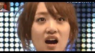 指原莉乃1位に対する高橋みなみの反応  AKB48選抜総選挙
