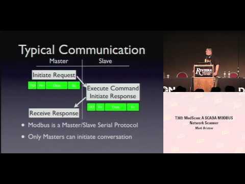 DEFCON 16: ModScan: A SCADA MODBUS Network Scanner