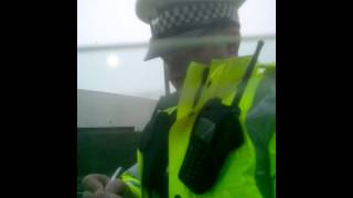 police scotland pirates lying about common law trying to rob this guy no consent