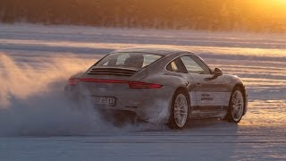 On the Arctic Circle with a Porsche Driving Experience Instructor