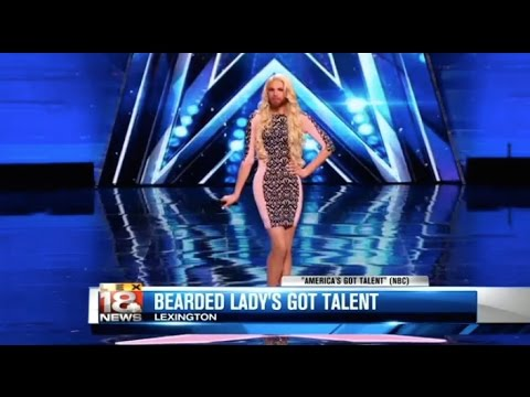 Kentucky's Bearded Lady Competes On 'America's Got Talent'