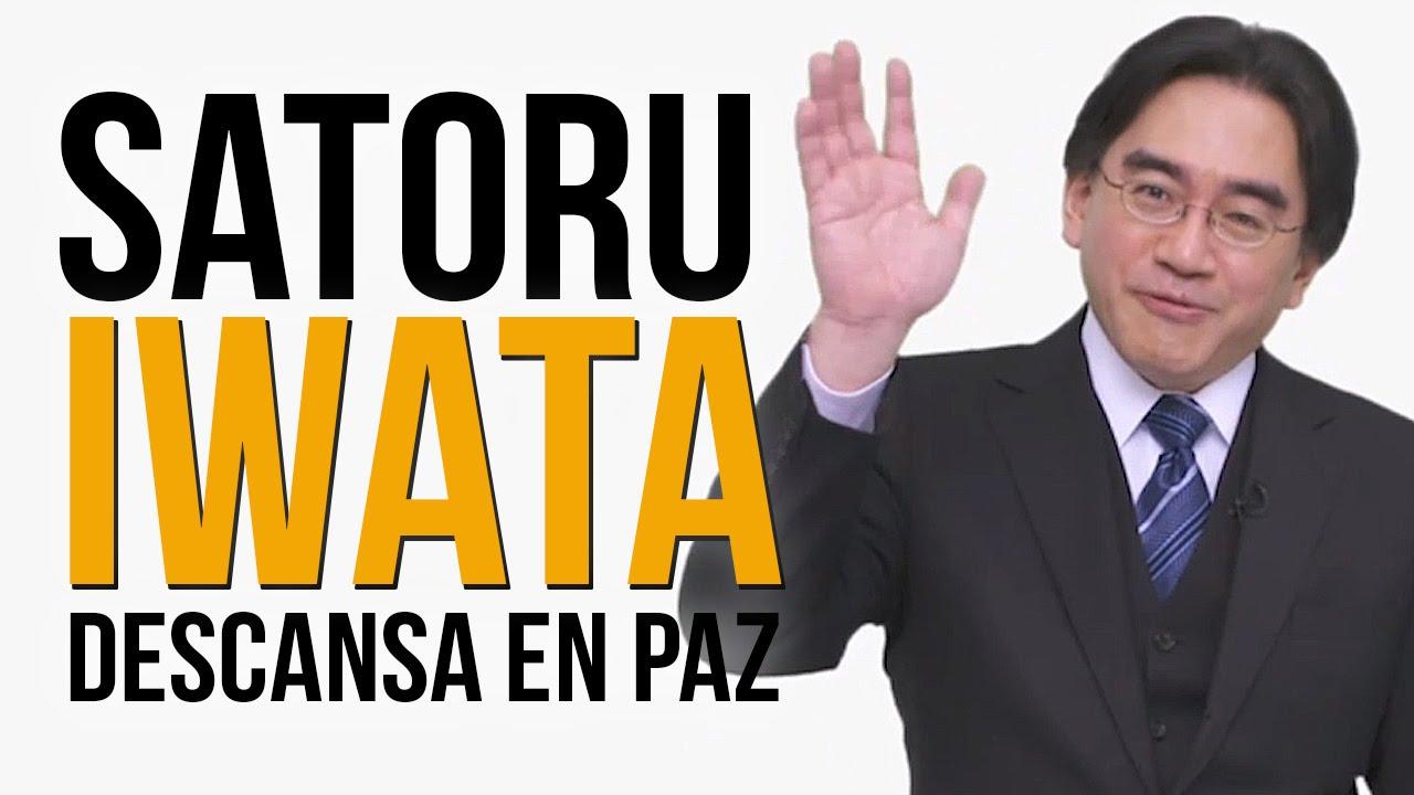 Descansa en paz, Satoru Iwata, Presidente de Nintendo