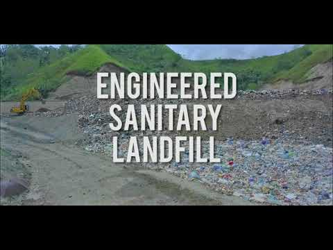 Rehabilitated Open Dumpsite & New Engineered Sanitary Landfill