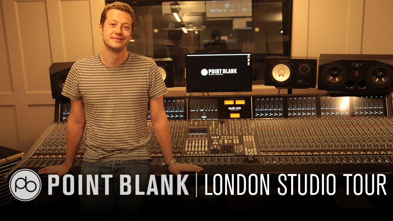 Point Blank London Studio Tour Meet Your Course Advisor