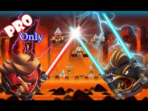 Angry Birds Star Wars 2: Part-3 All Boss Fights [Revenge Of The Pork] Obi-Wan &Anakin Episode III