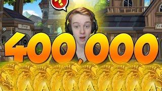 400,000 AC ARMOR!!! AQW Adventure Quest Worlds