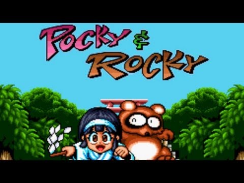 CGRundertow POCKY & ROCKY for SNES / Super Nintendo Video Game Review