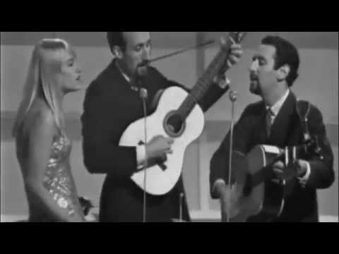 Puff The Magic Dragon  Peter, Paul & Mary ~ Live 1965