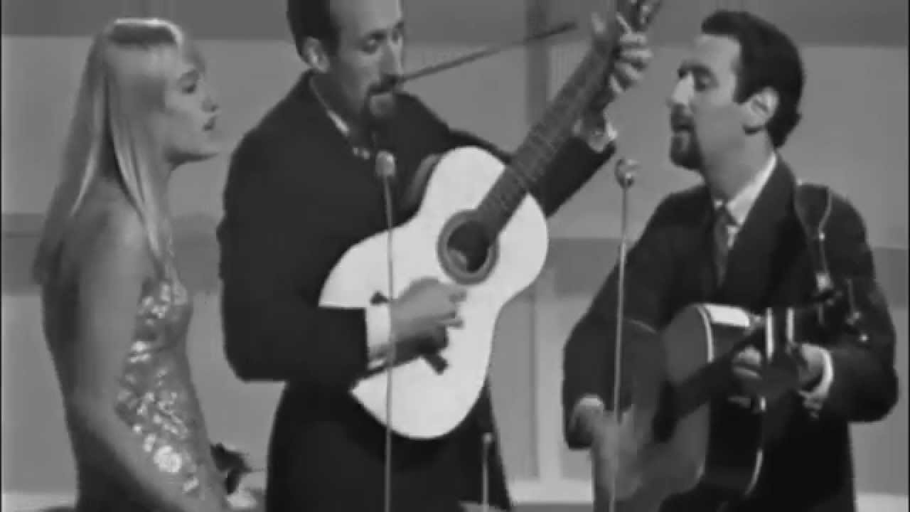 Puff The Magic Dragon Peter Paul Mary Live 1965 Chords