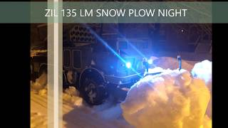 ZIL 135 LM RC SNOW PLOW NIGHT