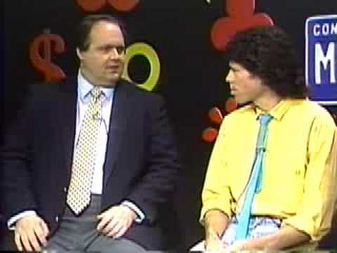 Rush Limbaugh's first TV interview from 1988 - Part 1 of 3