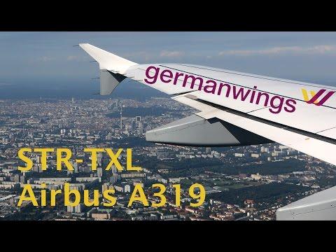 Germanwings A319 flight Stuttgart - Berlin Tegel trip report